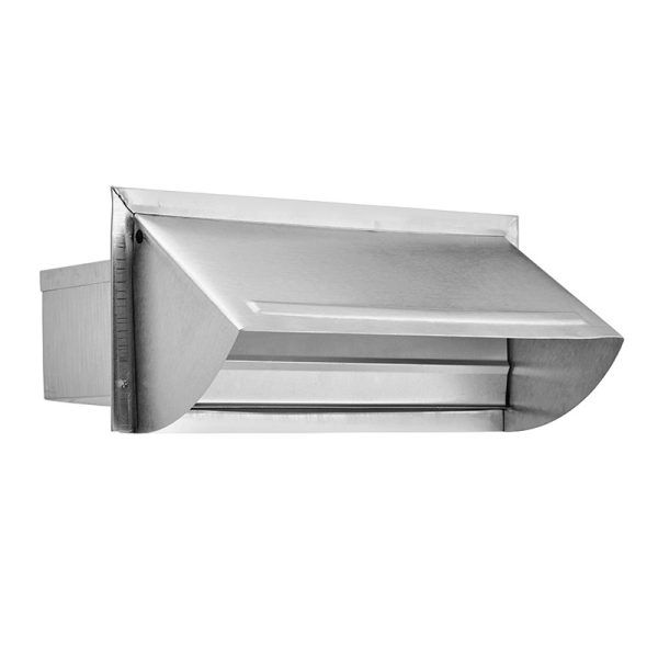 "3 1/4"" X 10"" Aluminum Wall Cap > Lambro Industries, Inc"