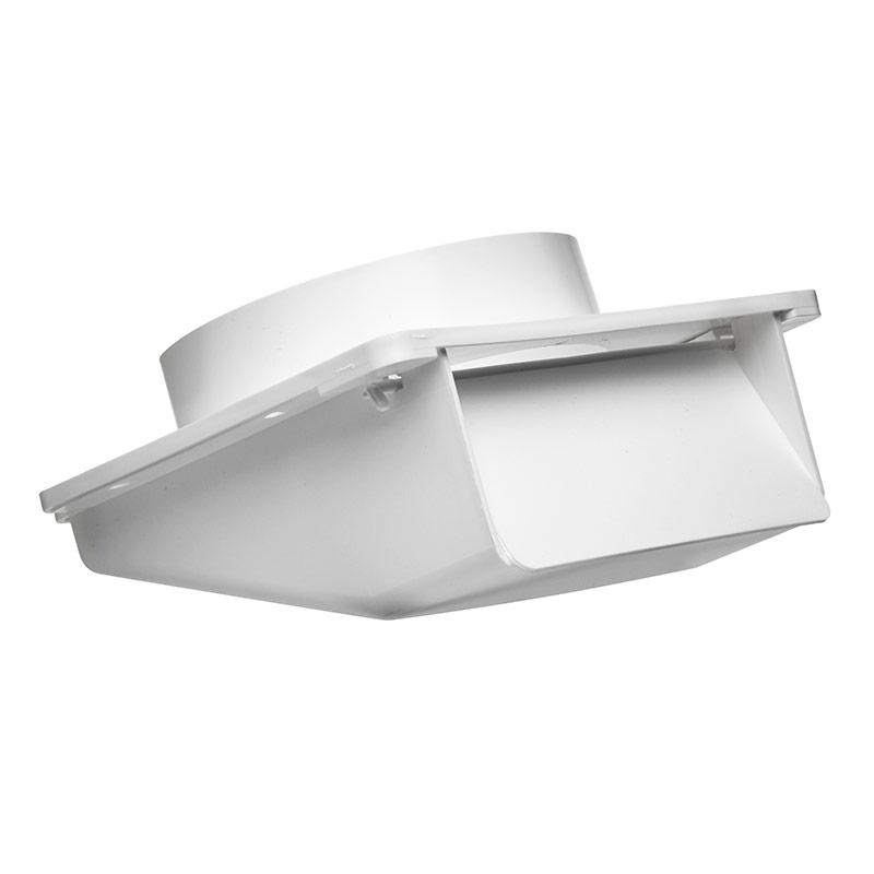 4 Quot White Plastic Under Eave Vent Gt Lambro Industries Inc