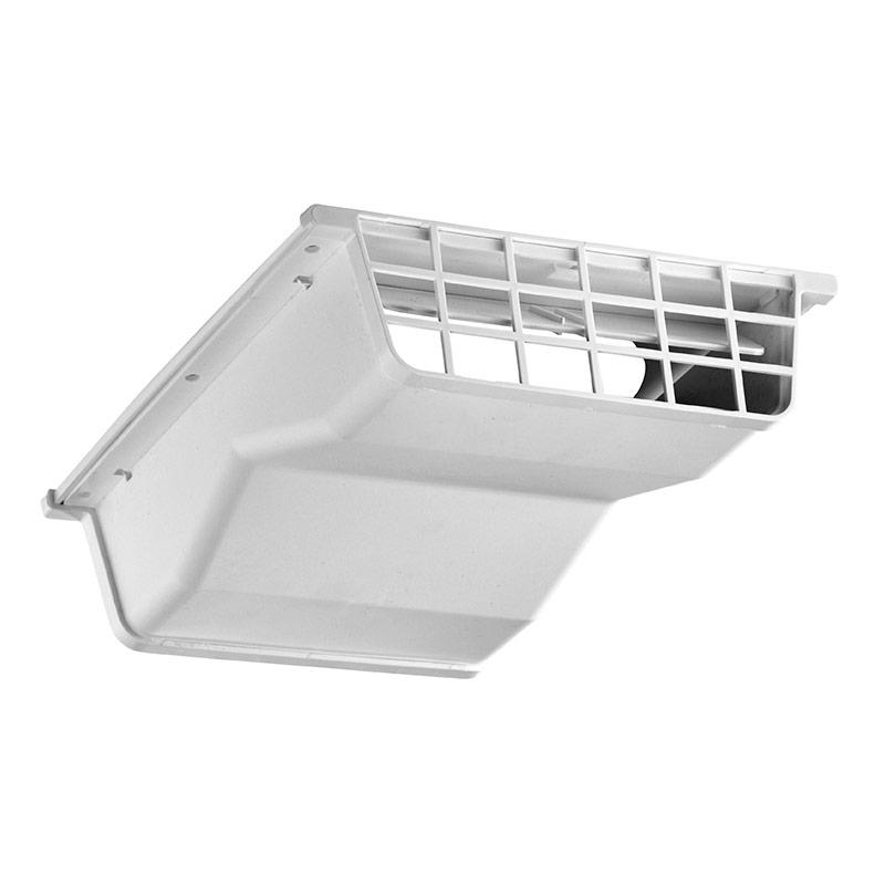 4 Quot Or 6 Quot White Plastic Under Eave Vent Gt Lambro Industries