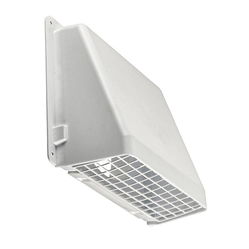 6 Quot White Plastic Wall Cap Gt Lambro Industries Inc