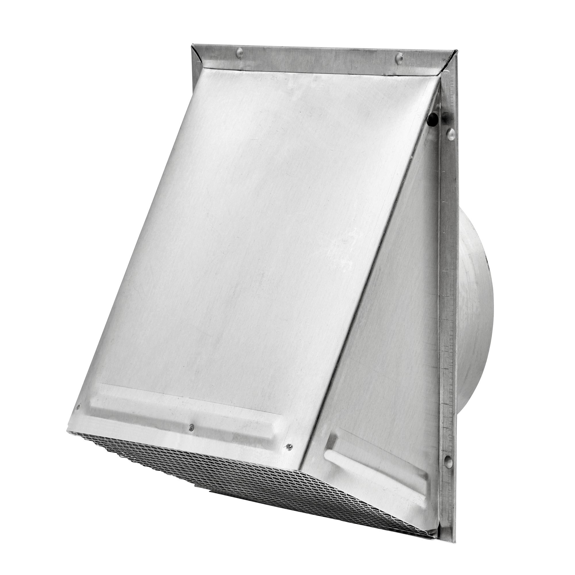 """Kitchen Exhaust Vent Wall Cap: 6"""" Aluminum Wall Cap > Lambro Industries, Inc"""