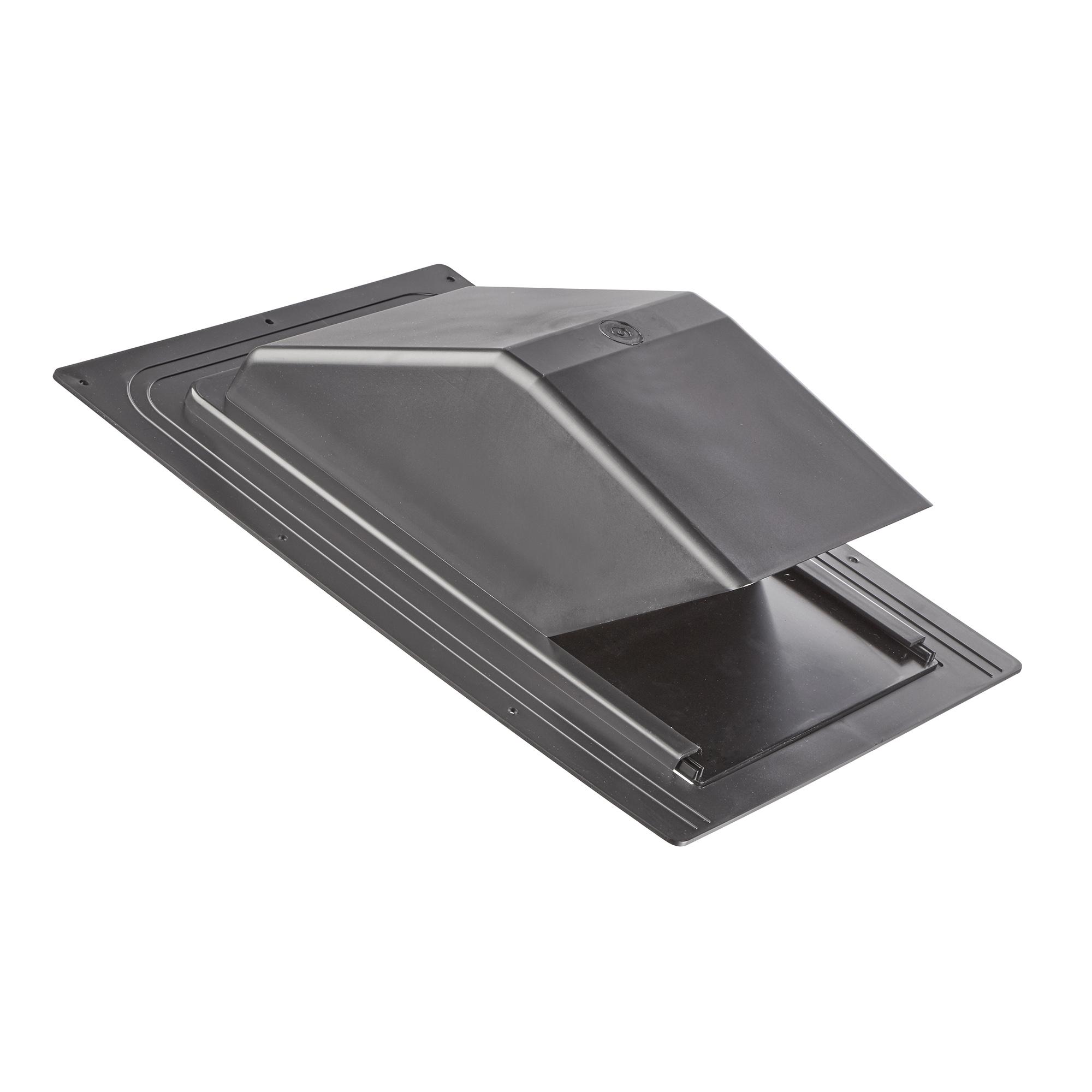 10u2033 Black Plastic Roof Cap