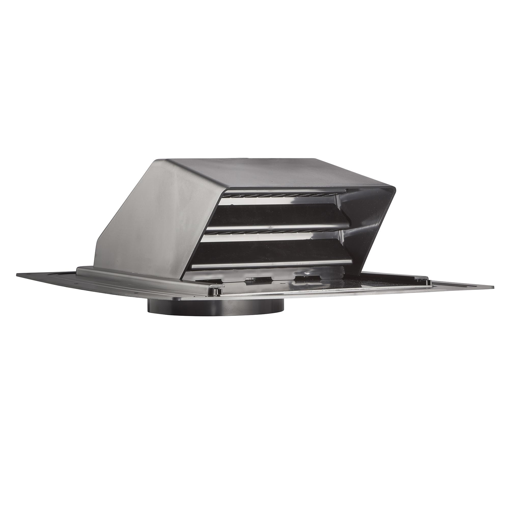 6u2033 Black Plastic Roof Cap