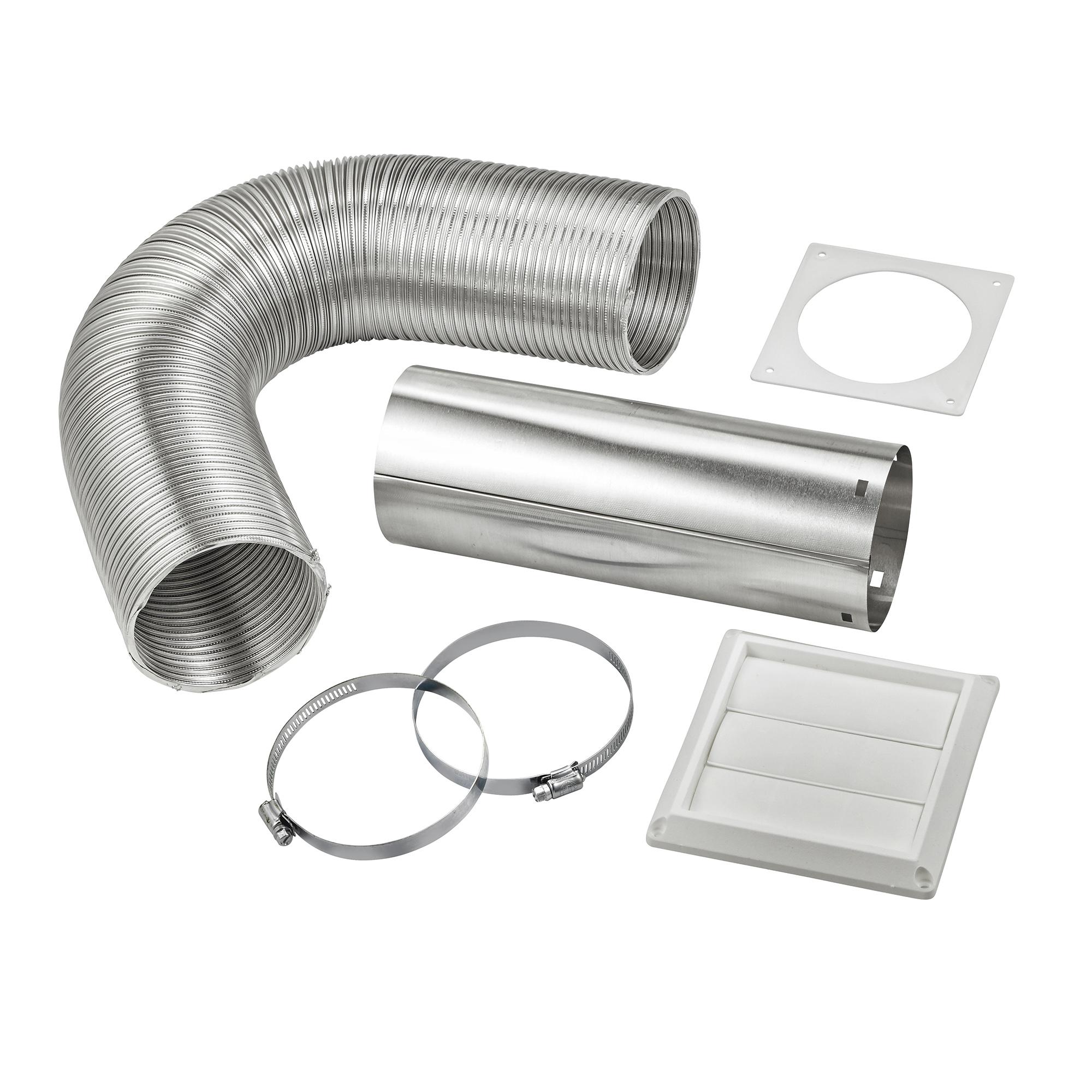 Quot flexible semi rigid aluminum duct louvered vent