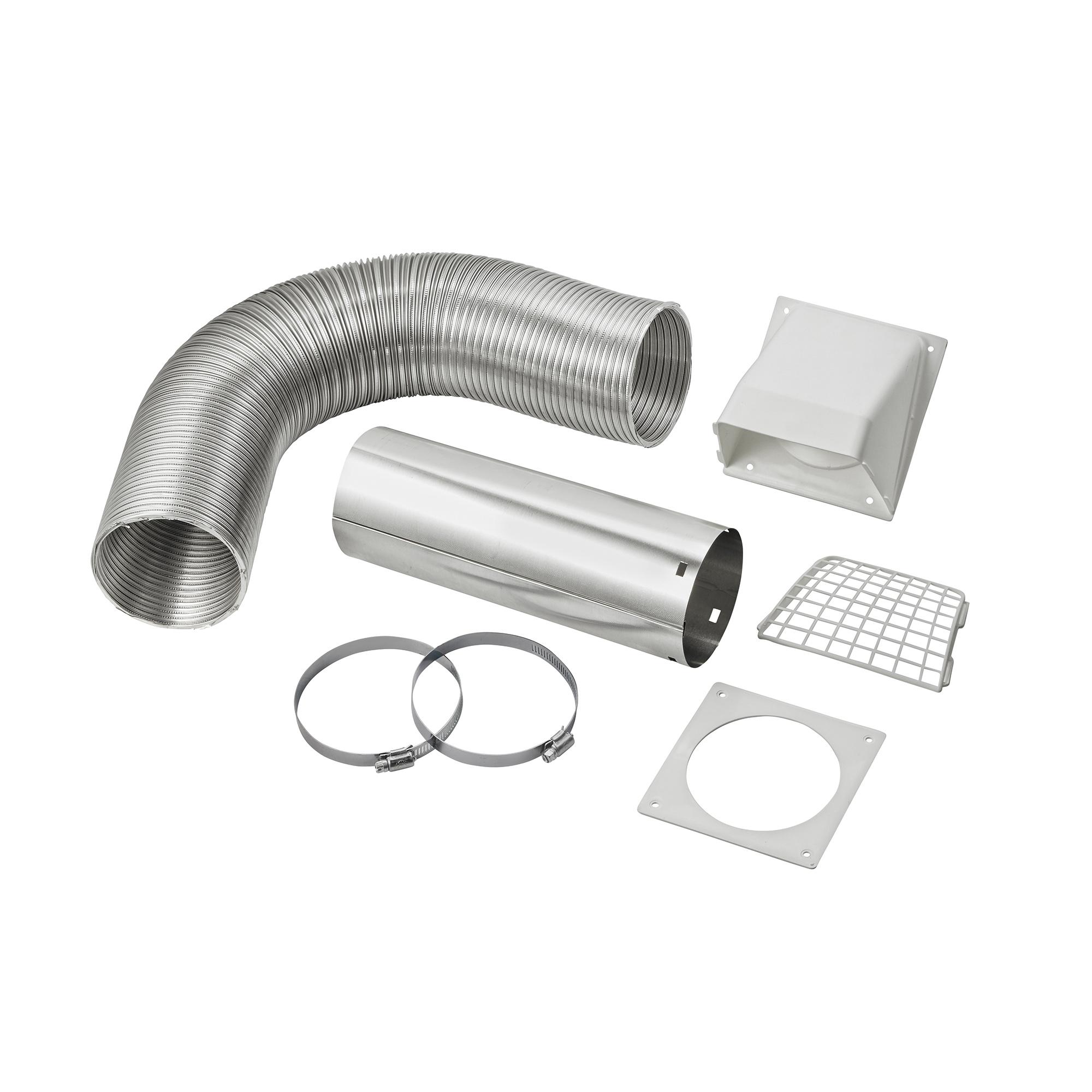 4 Quot X 8 Flexible Semi Rigid Aluminum Duct Preferred Hood