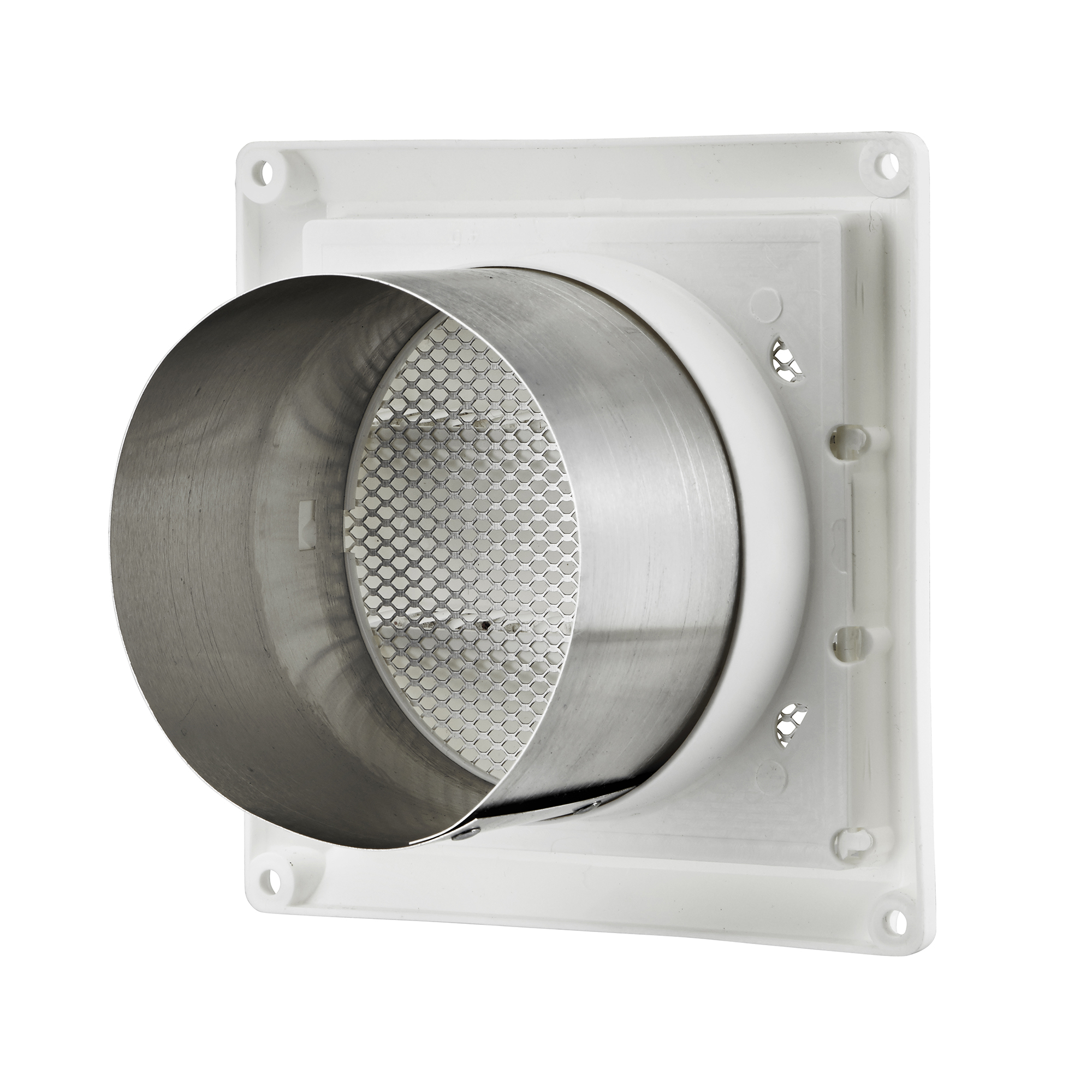 Air Intake Vent : Quot white plastic air intake louver vent gt lambro
